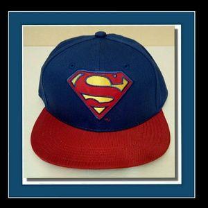 Dc Comics Superman Snapback Cap